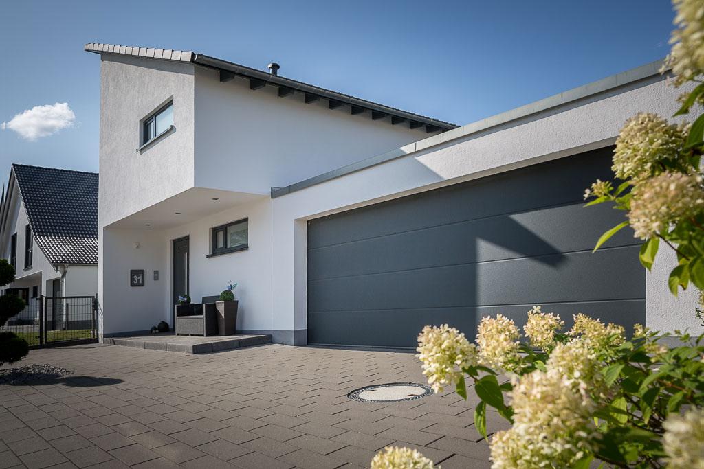 Neubau im Westerwald von Architektin Christine Hastenteufel