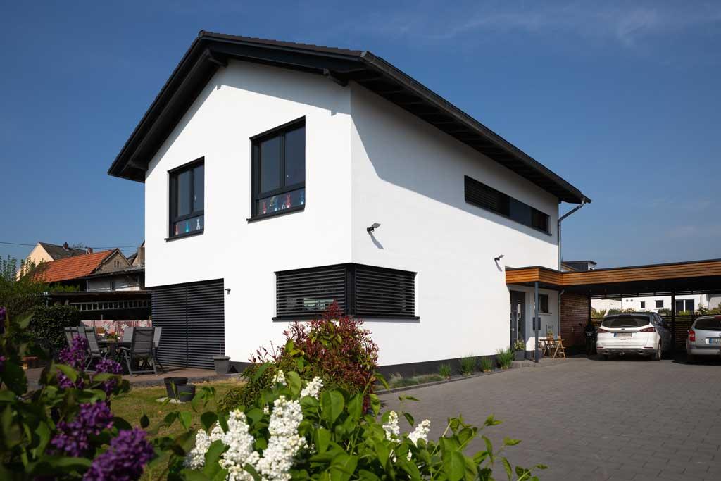 Holzrahmenbauweise im Westerwald mit Architektin Christine Hastenteufel